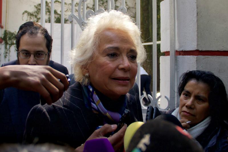 Olga Sánchez Cordero, reservó información patrimonial FOTO: Cuartoscuro