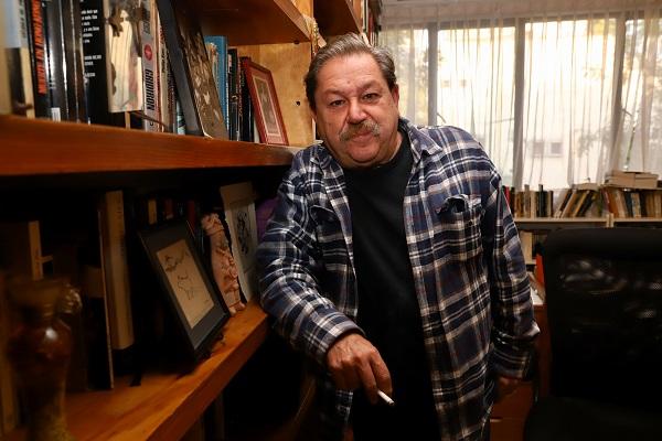 Taibo II ha sido impulsor de diversas actividades culturales. Foto: VÍCTOR GAHBLER / El Heraldo de México.