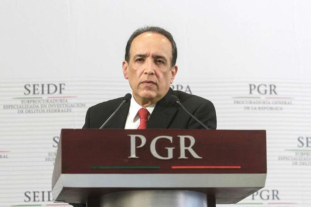 El subprocurador Muñoz Vázquez acusó de presuntos actos de corrupción en algunos juzgados y tribunales. Foto: Notimex