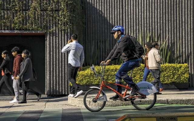 Para duplicar las 480 cicloestaciones, se requieren 431.5 mdp. Foto: Nayeli Cruz / El Heraldo de México.