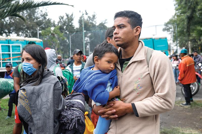 El menor número de personas y el intenso frío propiciarán la mudanza. Foto: Nayeli Cruz / El Heraldo de México.