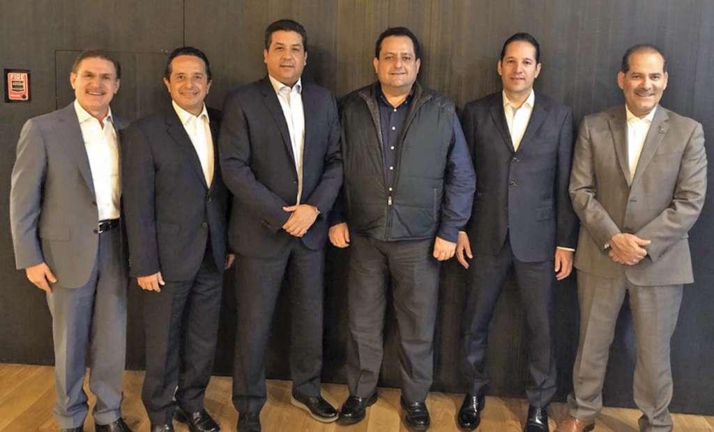 Los mandatarios mostraron su preocupación por los cambios de Morena. Foto: Especial.