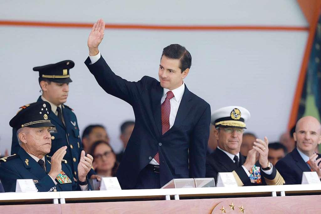 El Presidente insistió en la urgencia de contar con una ley que regule la actuación de los efectivos militares. Foto: Especial.