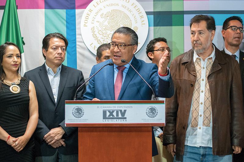 . Duarte es secretario en las comisiones de Puntos Constitucionales y de Jurisdiccional en la Cámara de Diputados. FOTO: DIEGO SIMÓN SÁNCHEZ /CUARTOSCURO.COM