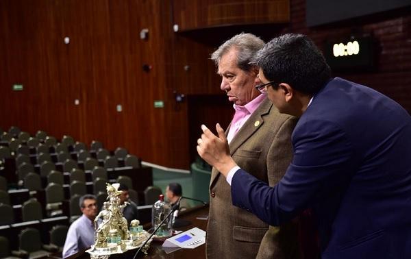 Afinan detalles en la Cámara de Diputados rumbo a la Protesta Constitucional de Andrés Manuel López Obrador. Foto: Especial