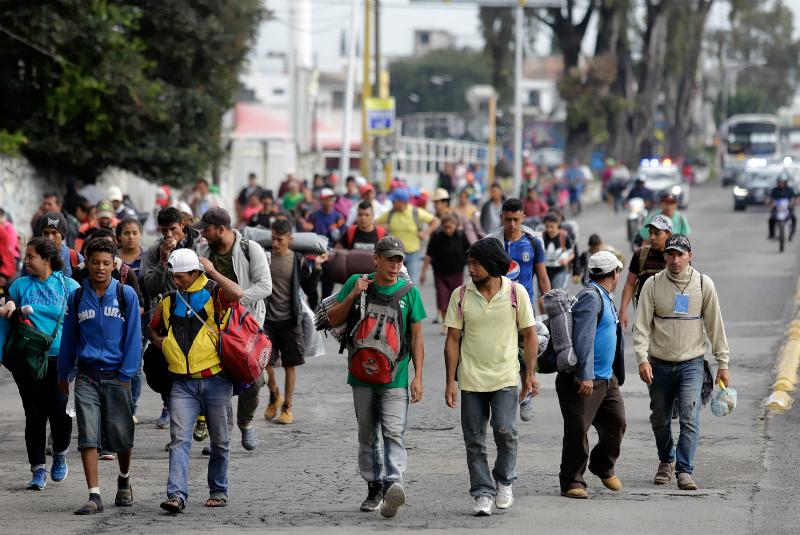 Los casi 4 mil migrantes prevén reagruparse en la Ciudad de México