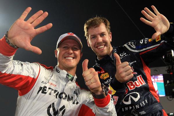Con tal sólo 19 años de edad Schumacher correrá junto al cuatro veces campeón del mundo de la F1, Sebastian Vettel. FOTO: ESPECIAL
