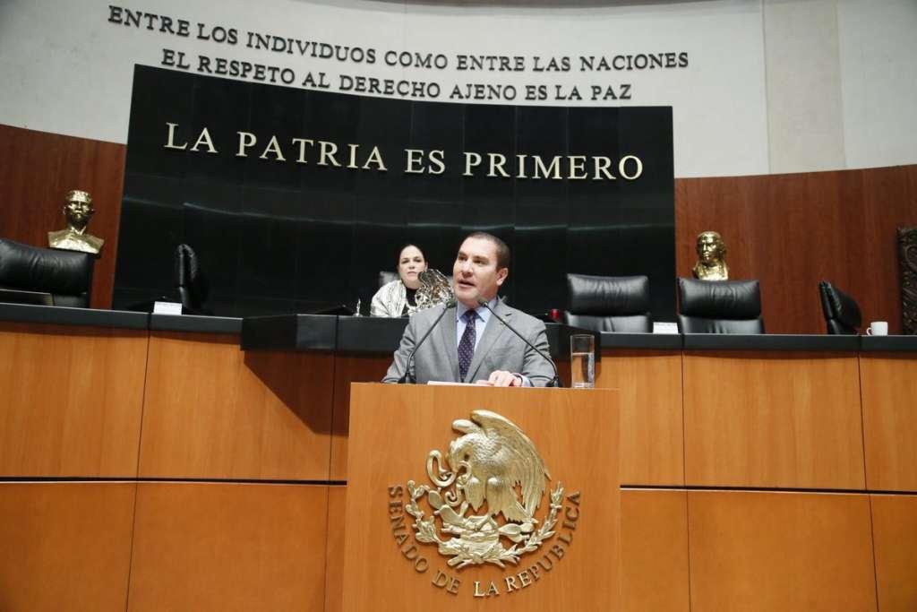A partir de hoy, el ex gobernador de Puebla, Rafael Moreno Valle, es el coordinador de los senadores panista