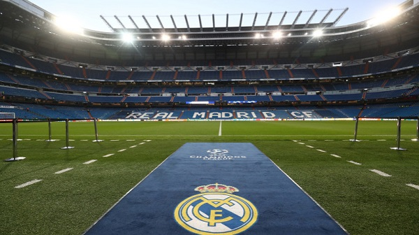 Estadio Santiago Bernabéu del Real Madrid. Foto: Reuters