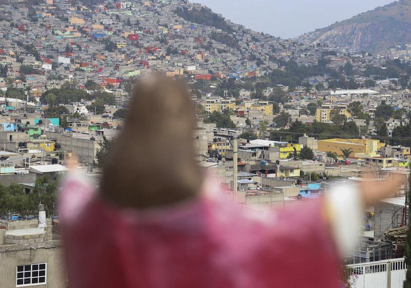 La alcaldesa Denisse Ugalde anunció el pro- grama que tendrá una duración de cuatro semanas. FOTO: SAÚL LÓPEZ /CUARTOSCURO.COM