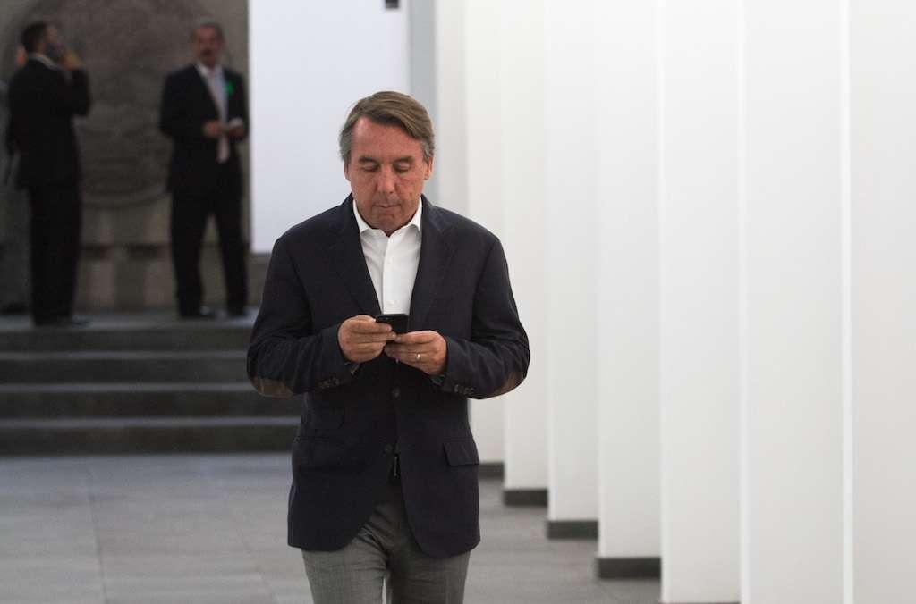 Emilio Azacarrag Jean, presidente del Consejo de Administración de Grupo Televisa. FOTO: MOISÉS PABLO /CUARTOSCURO.COM