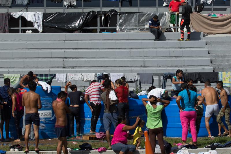 Para muchos, el contingente que cruzó la frontera entre México y Guatemala ha dejado en evidencia la xenofobia en nuestro país