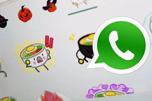 Debes usar la app Personal stickers for WhatsApp. FOTO: ESPECIAL