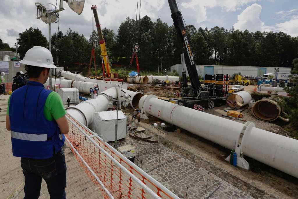 Revelan que condiciones climatológicas para este tipo de trabajos no han ayudado. FOTO: ARCHIVO/ CUARTOSCURO