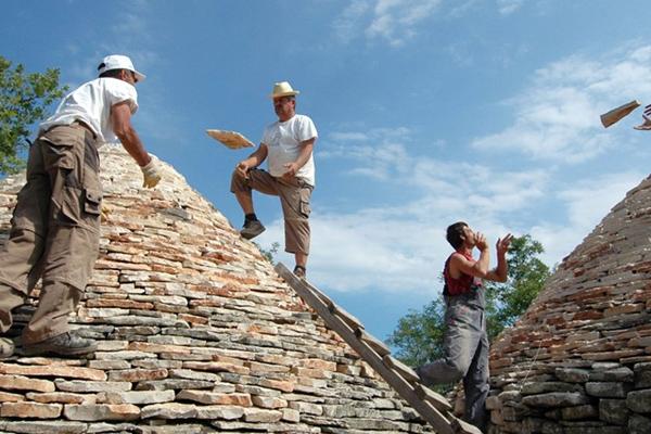 Fue inscrito el arte de construir muros en piedra seca. FOTO: UNESCO