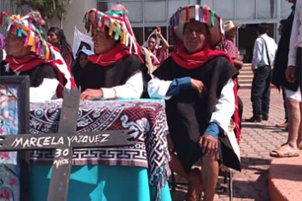Las Abejas de Acteal fueron demandados legalmente por el Consejo Pacifista. FOTO: ESPECIAL