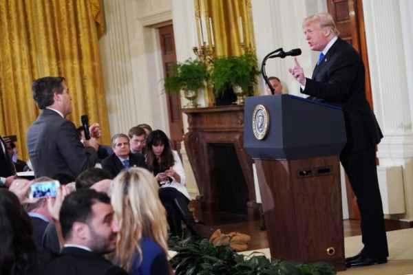 Las preguntas de Acosta sobre los inmigrantes, desataron el enojo de Trump. Foto: Archivo | Cuartoscuro