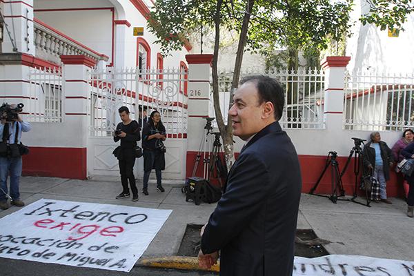 Alfonso Durazo, próximo secretario de Seguridad Pública en el gobierno del presidente electo, Andrés Manuel López Obrador. FOTO: NOTIMEX