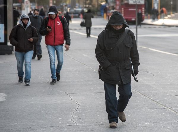 La masa de aire asociada al sistema frontal número 8 también ocasionará ambiente frío en el centro y oriente del país. Foto: Cuartoscuro