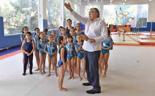 l LEGADO. El extitular de la Comisión Nacional del Deporte apoya a las nuevas generaciones. Foto: : PABLO SALAZAR SOLÍS