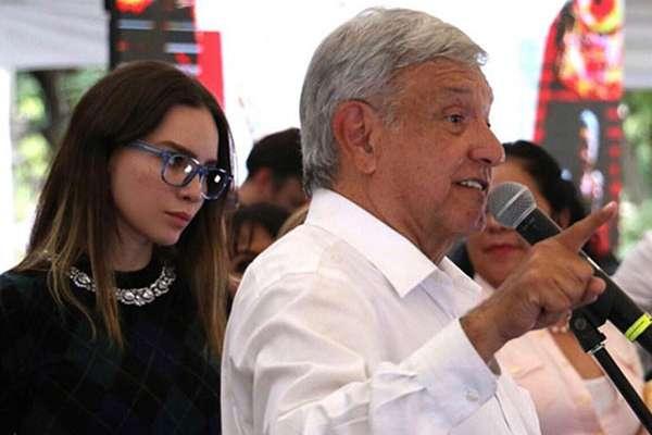 Durante la campaña y después, Belinda se mostró muy activa en el apoyo a AMLO. FOTO: TWITTER