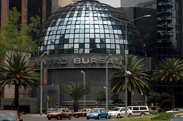 La Bolsa Mexicana de Valores (BMV) FOTO: NOTIMEX