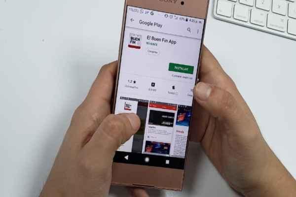 La aplicación móvil se encuentra disponible para la plataforma de Android. Foto: Luis Hernández