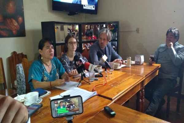 RFS y CPJ lamentaron las ausencia de políticas públicas que garanticen la seguridad de los periodistas. Foto:Jeny Pascacio