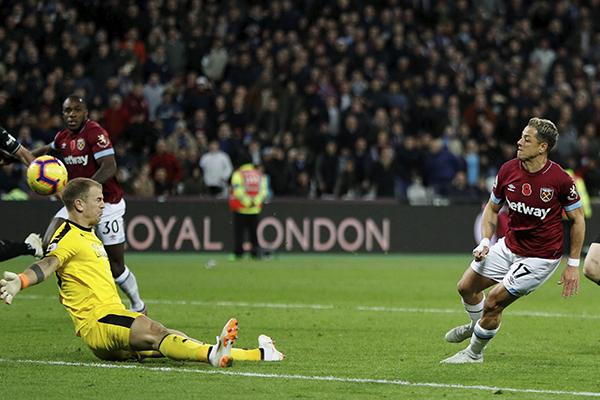Después de estar enfermo se reencontró con el gol. FOTO: REUTERS