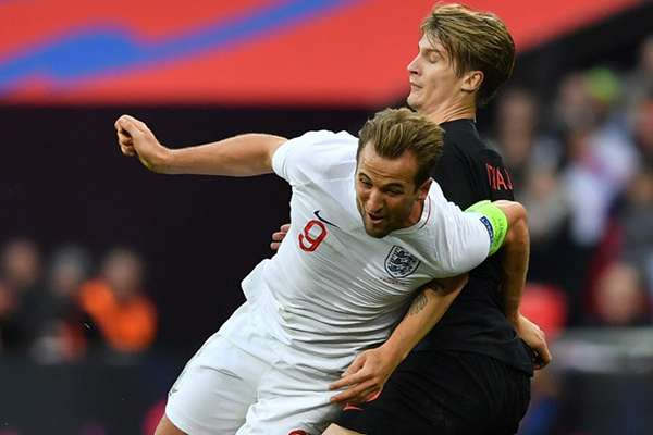 Inglaterra se tomó la revancha de las semifinales del Mundial y derrotó a Croacia (2-1), este domingo en Wembley. FOTO: AFP