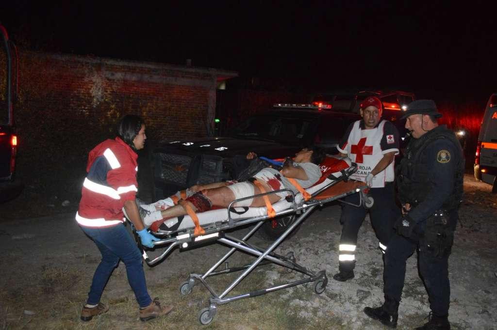 Tres personas más resultaron lesionadas en el enfrentamiento. FOTO: Twitter El Salmantino