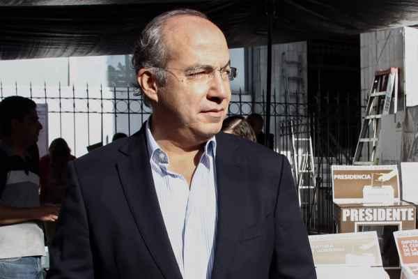 Calderón dijo que en caso de que Gómez Morín pierda la presidencia del PAN buscaría crear el partido. Foto: Archivo | Cuartoscuro