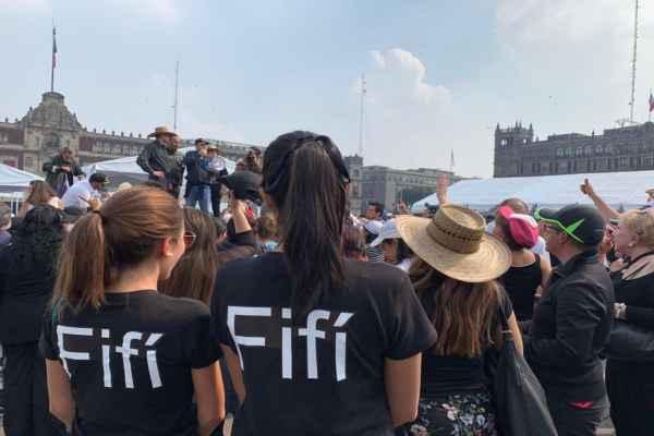 En caso de que haya una segunda Marcha Fifí, se pedirá a los asistentes que vistan de blanco. Foto: Manuel Durán