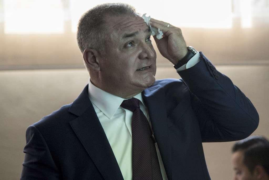 Genaro García Luna, ex Secretari Federal en el sexenio del ex Presidente Felipe Calderón. FOTO: TERCERO DÍAZ /CUARTOSCURO.COM