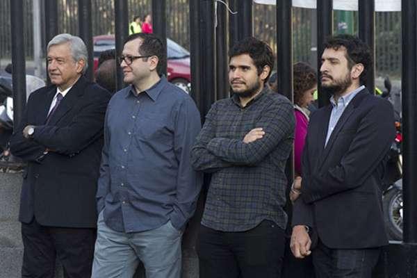 Andrés Manuel López Obrador tiene cuatro hijos. FOTO: CUARTOSCURO