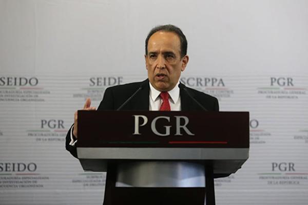 Felipe Muñoz Vázquez, subprocurador Especializado en Investigación de Delitos Federales de la PGR, habló del caso de Javier Nava Soria, contador de Javier Duarte. FOTO: TWITTER