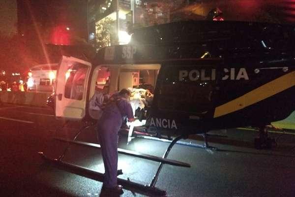 Un trailer embistió a varios vehículos en la autopista México-Toluca, a la altura del kilometro 15, hasta el momento se han confirmado 12 muertes. Foto: Cuartoscuro