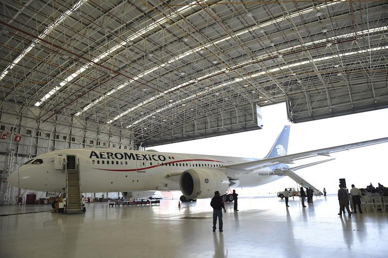 Advierte Aeroméxico a empleados de ajuste presupuestal. Leslie Pérez / El Heraldo de México