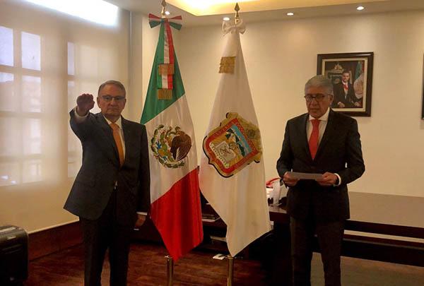 Luis Felipe Puente será coordinador de Protección Civil en el Estado de México. FOTO: TWITTER