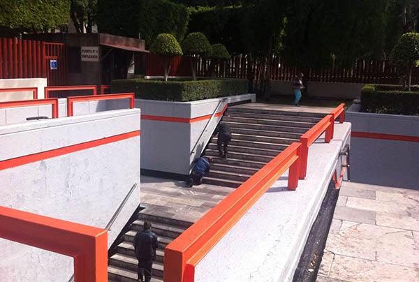 En la estación Candelaria, el Metro ha realizado trabajos de mantenimiento previo al 1 de diciembre. FOTO: METRO