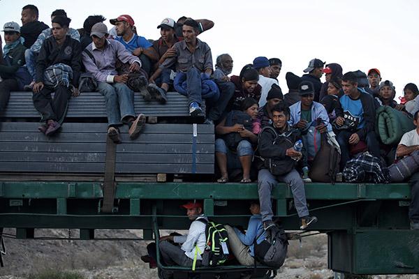 Migrantes han atravesado el territorio mexicano para llegar a los Estados Unidos. FOTO: CUARTOSCURO