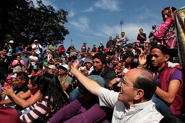 De acuerdo con los planes, si un migrante no teme persecución en México, deberán permanecer en territorio mexicano. FOTO: ARCHIVO/ NOTIMEX
