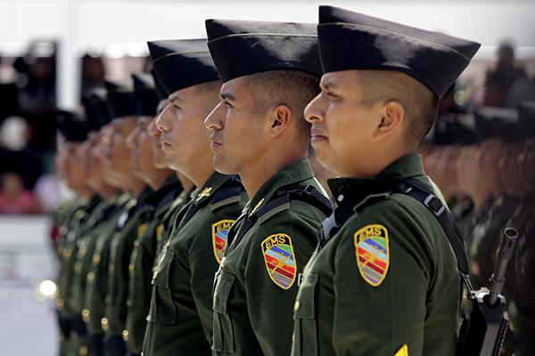La Guardia Nacional militarizada ya que