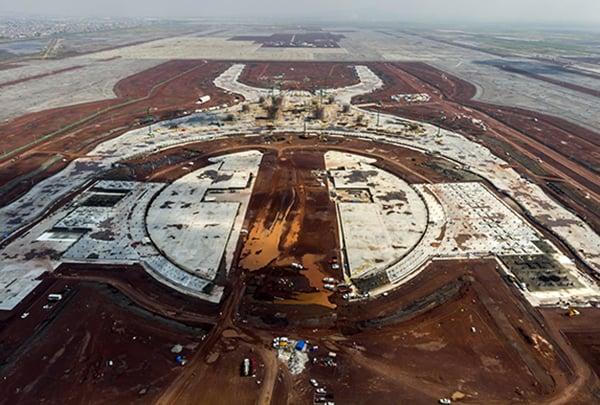 La construcción del NAIM inició en septiembre de 2015. FOTO: NOTIMEX