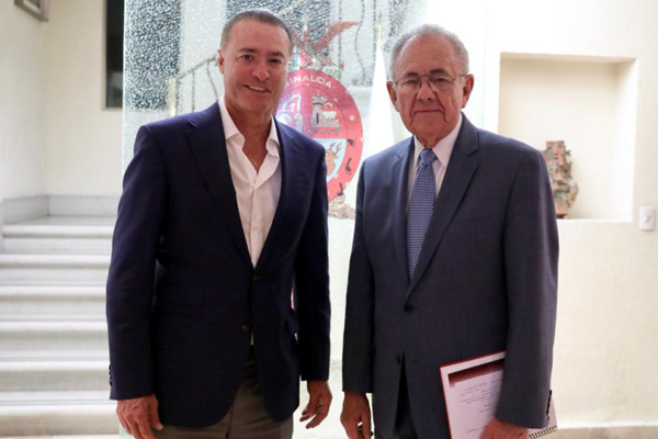 Se reunieron en la Casa de la Representación del Gobierno de Sinaloa en la Ciudad de México.  FOTO: ESPECIAL