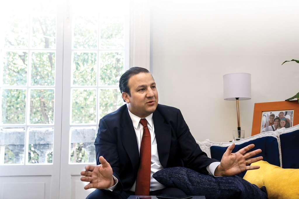 EL SECRETARIO ROBERTO TRAUWITZ RESALTA ALZA EN NÚMERO DE VISITANTES Y EN DERRAMA ECONÓMICA. Foto. Nayeli Cruz / El Heraldo de México.