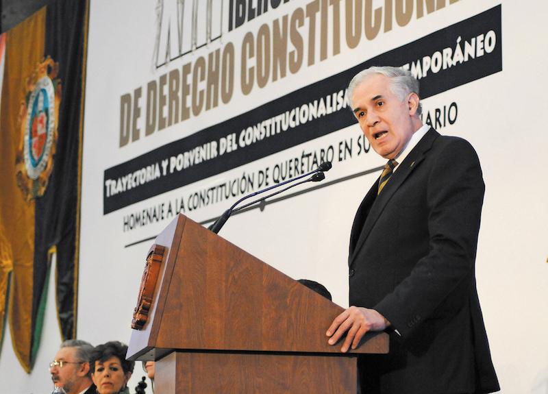 El in- vestigador del Instituto de Investigaciones Jurídicas de la UNAM alertó sobre inconsistencias. FOTO: DIEGO SIMÓN SÁNCHEZ /CUARTOSCURO.COM