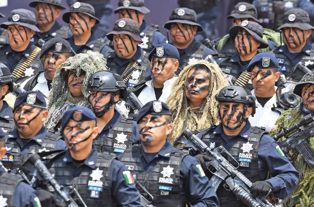 A los elementos se les instruirá en el respeto a garantías individuales. Foto: Pablo Salazar / Heraldo de México.