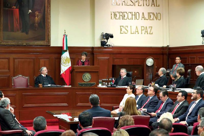 El Pleno del máximo tribunal del país comenzó la revisión de las impugnaciones. Foto: Notimex
