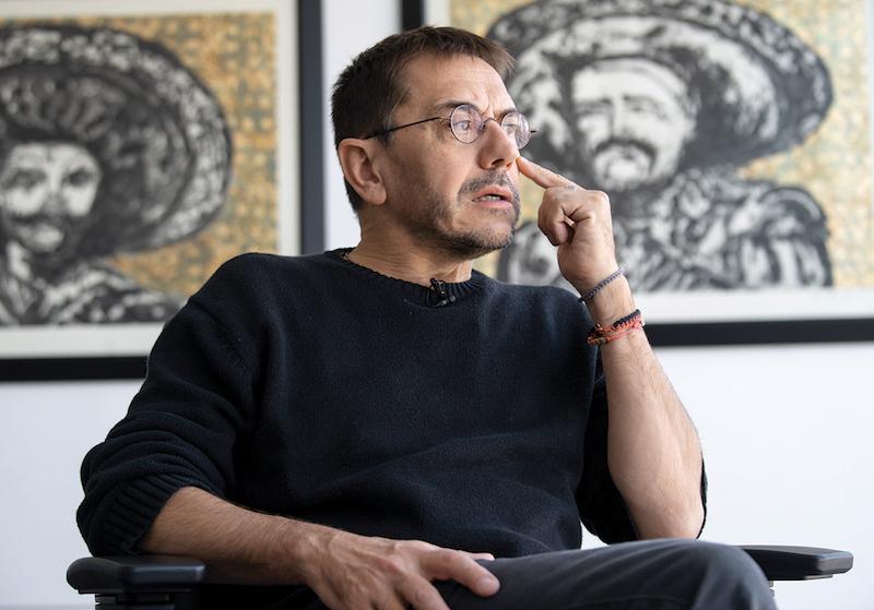 Monedero llama a pensar en narrativas de esperanzas y no de miedo, para el nuevo gobierno.  Foto: Edgar López / El Heraldo de México.